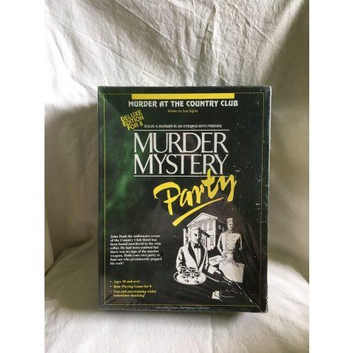 Murder Mystery Party angol nyelvű társasjáték fóliázott 18+