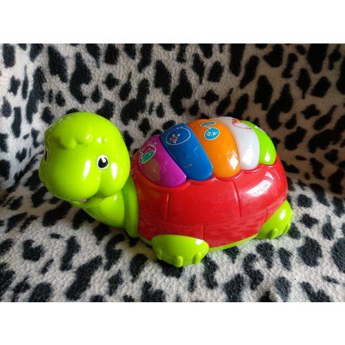 Zenélő teknős