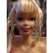 Barbie fésülhető babafej kiegészítőkkel