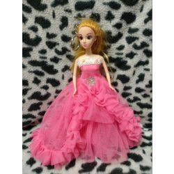 Rózsaszín ruhás baba kulcstartó (24)