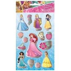 Disney hercegnős hologramos matrica 1