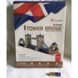 Tower Bridge 3D puzzle 120 db-os, fóliázott