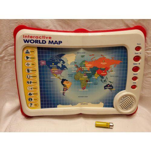 Interaktív world map