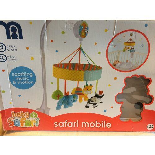 Baby Safari zenélő körforgó ÚJ csomagsérült