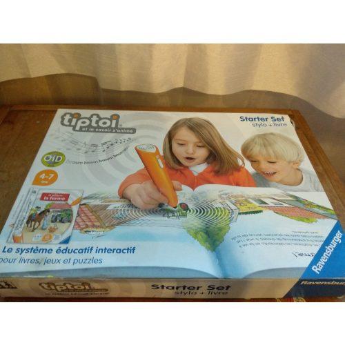 Interaktív tanuló könyv francia nyelven