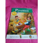 Pinokkió matricáskönyv ÚJ