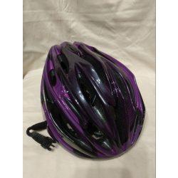 Lila biciklis bukósisak 54-60 (445)