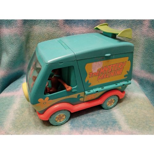 Scooby Doo járgány 2 figurával