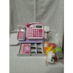 ELC Cash register Pénztárgép kiegészítőkkel - csomagolás nélküli új termék