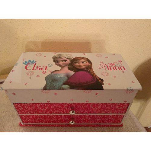 Jégvarázs / Frozen ékszeres doboz