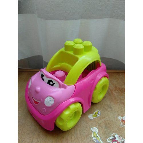 Nagyméretű megabloks autó lányoknak