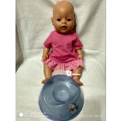 Zapf Creation Baby Born pisilő baba cumisüveggel, bilivel (5)
