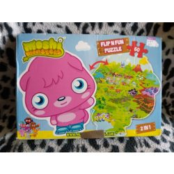 Moshi monsters 60 db-os puzzle