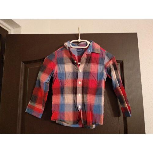Kockás ing 4-5 éves korra kb 116