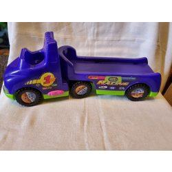 Autószállító autó 1 kisautóval (518)