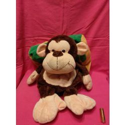 Plüss majom/párna egyben