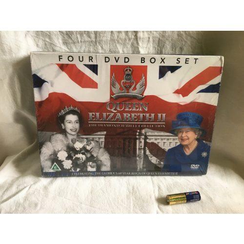 Queen Elizabeth II. angol nyelvű társasjáték fóliázott