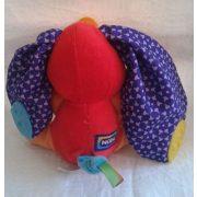 Nüby színes nagyfülű elefánt babaplüss
