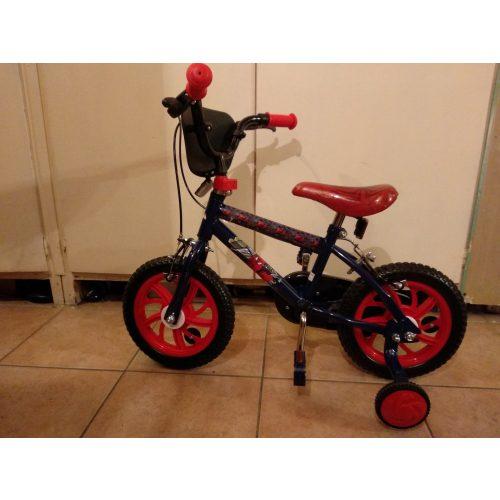 Pókemberes gyerek bicikli (kerékpár) 12-es méret