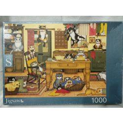 Macskás 1000 db-os puzzle