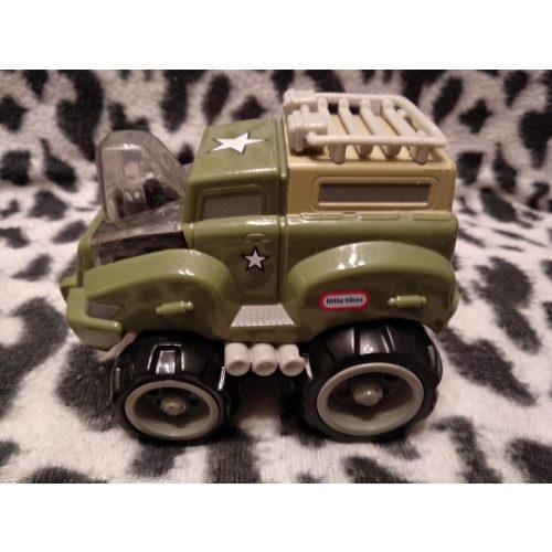 Little tikes katonai autó