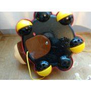 V-tech interaktív, zenélő, világító, húzható katica