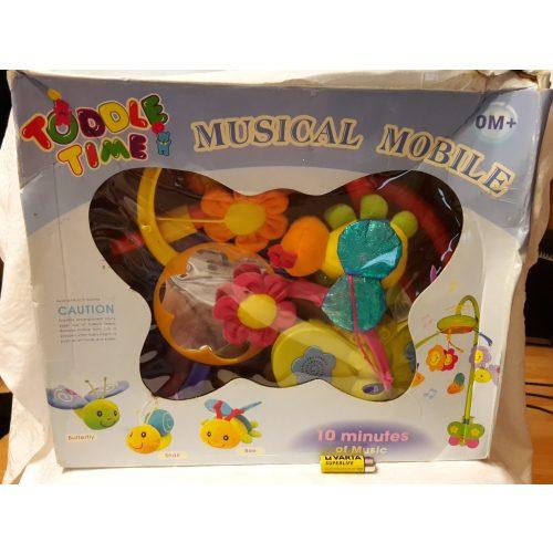 Zenélő játék kiságyra