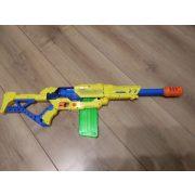 Szivacskilövő puska 10 tölténnyel (442)