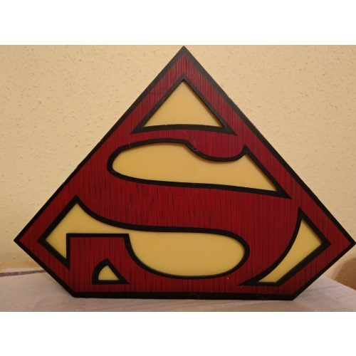 Superman éjjeli lámpa