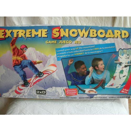 Extreme snowboard társasjáték