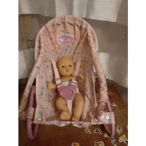 Baby Annabell játékbaba hordozó játékbabával