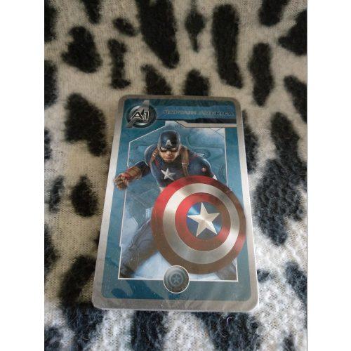 Amerika Kapitány kártya ÚJ