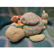 Csörgő, zörgő tükrös teknős babáknak