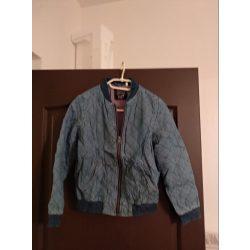 Fiú steppelt átmeneti kabát 140-es méret