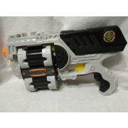 X-shot forgótáras korong- és szivacskilövő pisztoly 8 tölténnyel (1)