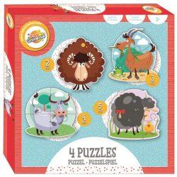 Farmos forma puzzle szett