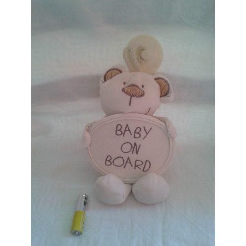 Baby on board tapadókorongos maci