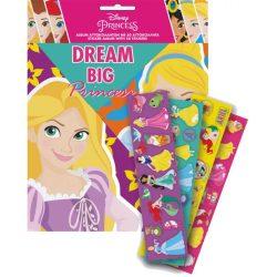 Disney Hercegnők matricás album 50 db matricával, új