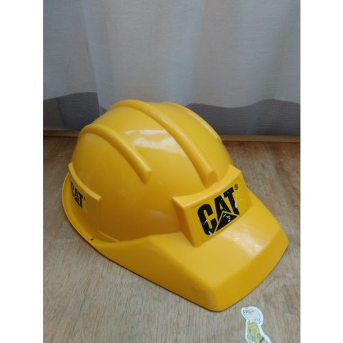 CAT munkavédelmi sisak,  állítható fejkörméret
