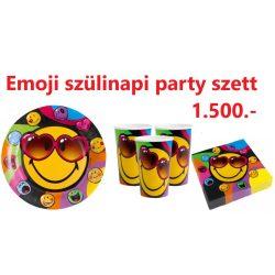 Emoji party szett