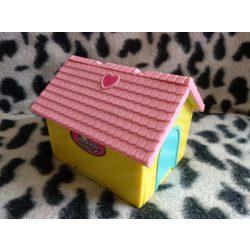 Lotta little puppies kis ház játékszett figurával (1 kutyus és 1 pici zoobles) (518)
