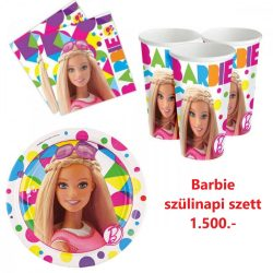 Barbi party szett