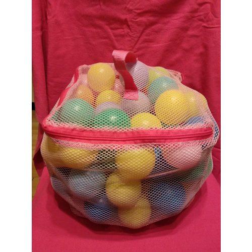 Műanyag labdák zsákban 94 db