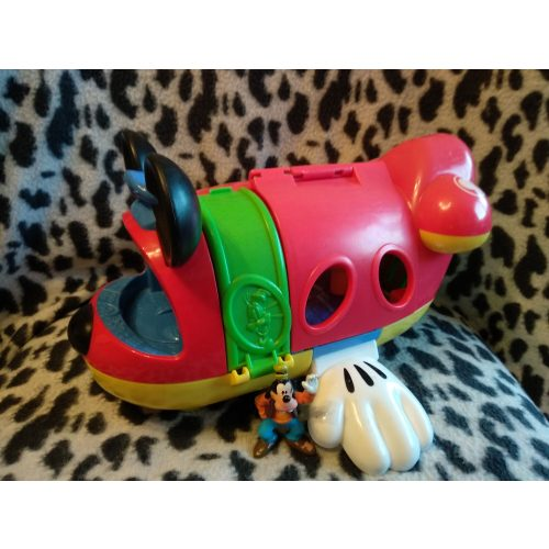 Disney Miki egeres repülőgép 1 figurával (517)