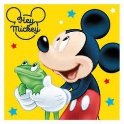 Mickey egér arctörlő, kéztörlő 2 db egyben