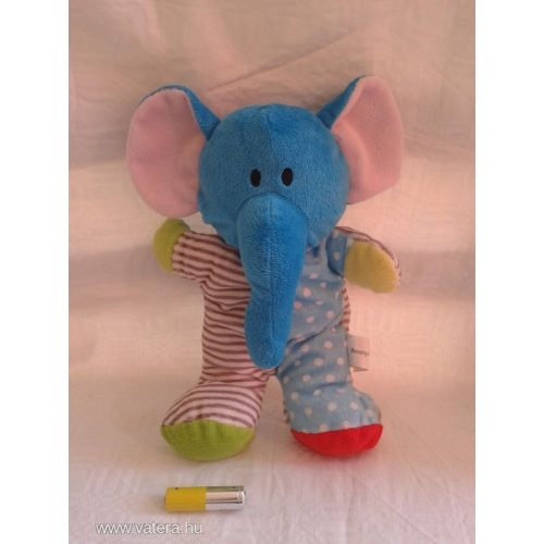 Színes puha elefánt