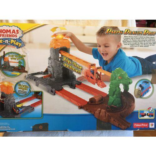 Thomas: Sárkánysziget pálya csomagsérült