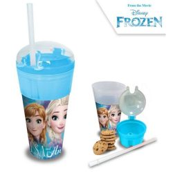 Jégvarázs üdítő- és snack tartó pohár