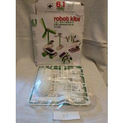 Robot kids napelemes játékszett (5)