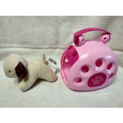Plüss kutyus tárolóval (1)